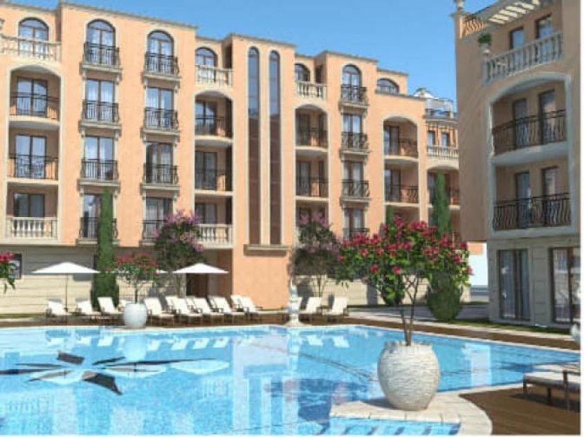 Apartments on beach sea in Bulgaria