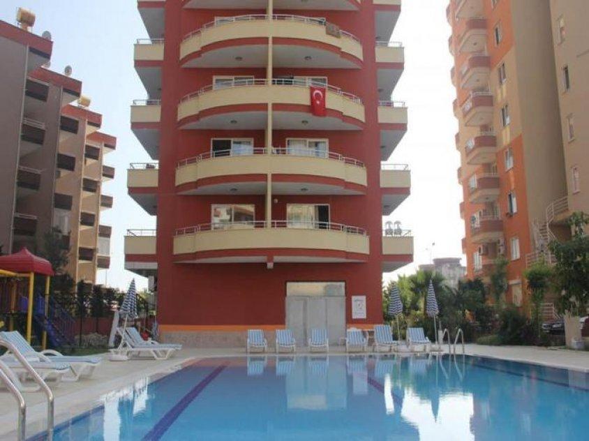 Apartment on beach sea