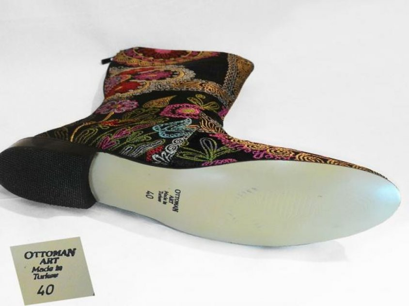 Handmade Zeyzani Osman Style Boots special product Zey-1012