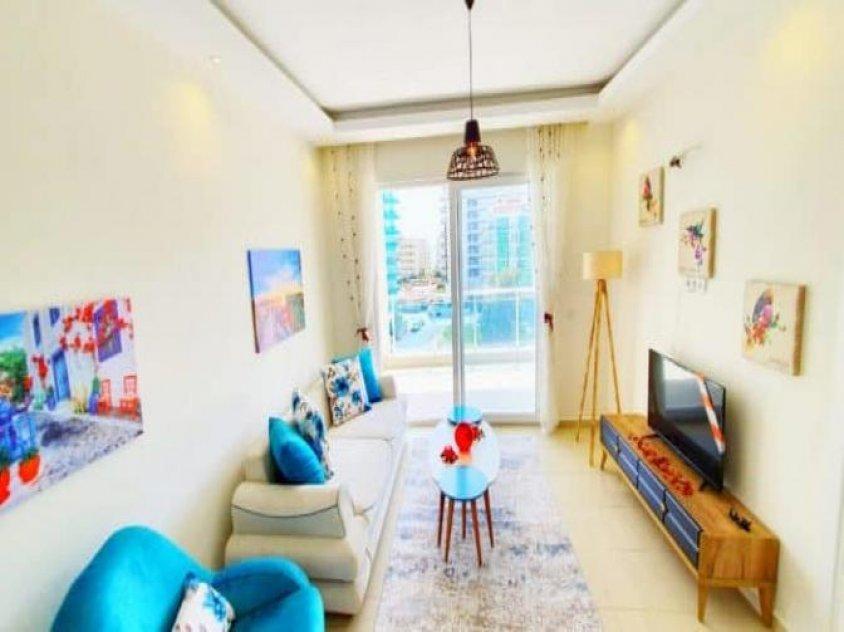 Apartment on beach sea in Turkey