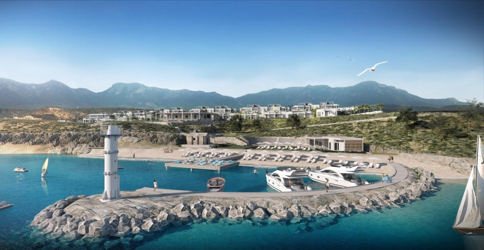 The Cove project Esentepe, North Cyprus