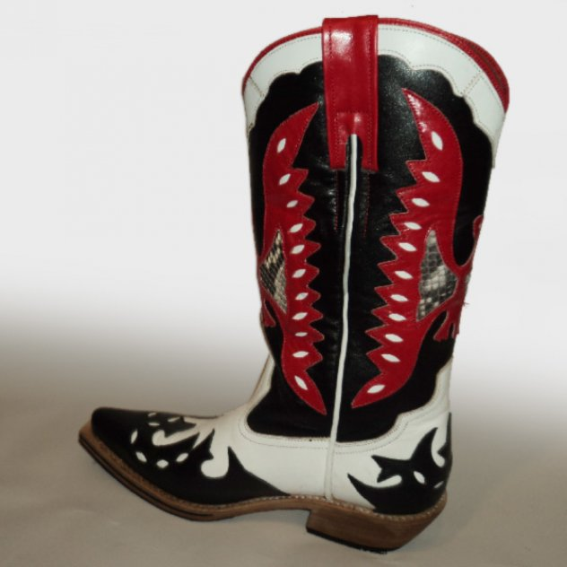 Cowboy style leather boots Handmade in Turkey C-2020