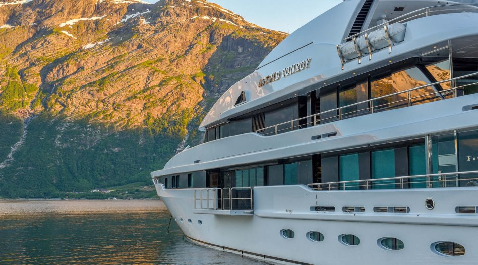 Luxury Amels Yacht ASTRID CONROY Sold