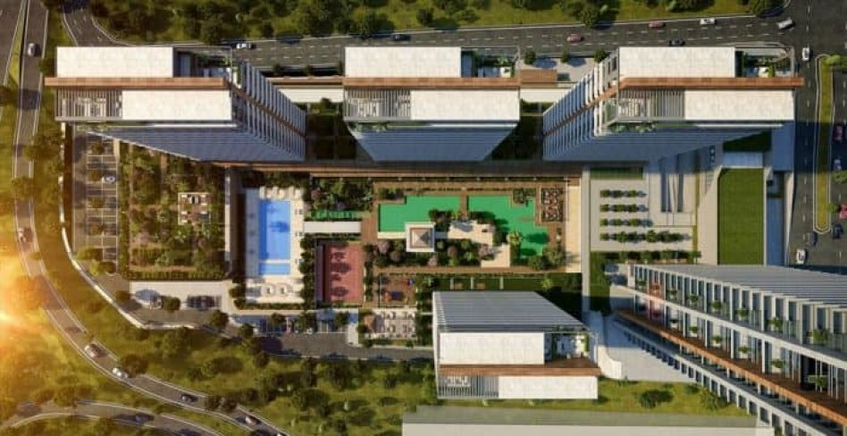 Propose for sale wonderful apartments of complex Istanbul / Esenyurt in Turkey :