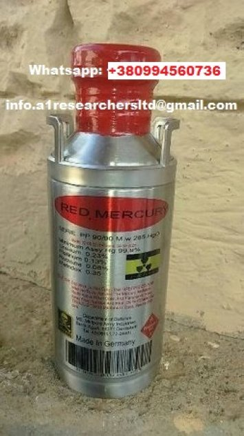 Pure Red Liquid Mercury For Sale