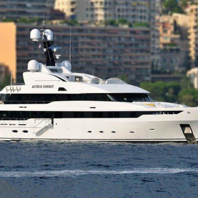Luxury Amels Yacht ASTRID CONROY Sold