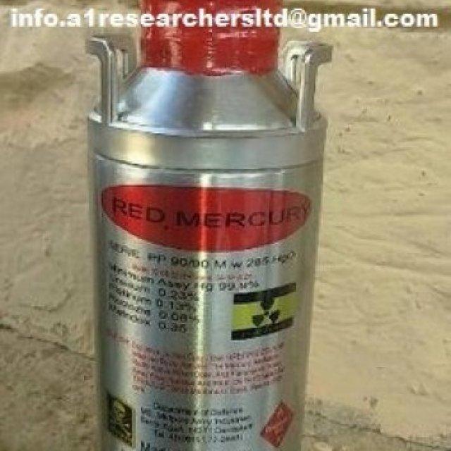 Pure Red Liquid Mercury For Sale