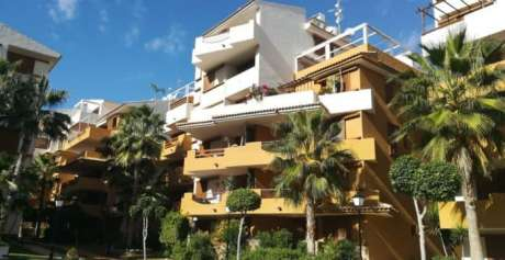 Propose for sale wonderful apartments of complex on first line Orihuela Costa beach in Costa Blanca Spain.