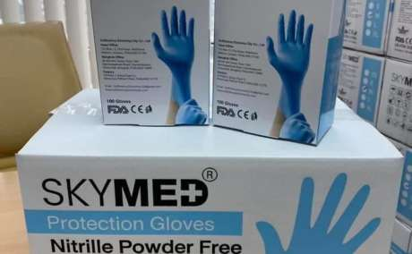DISPOSABLE MEDICAL NITRILE GLOVES FOR SALE