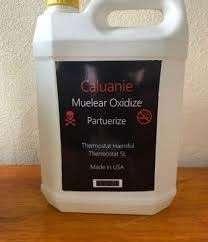 pure Caluanie Muelear Oxidize Parteurize