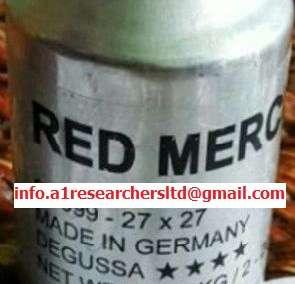 Red Liquid Mercury 20/20 99.9995% Suppliers